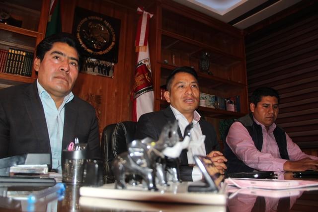 Diputado federal del PES etiquetó 5 mdp para 3 obras en Quilehtla