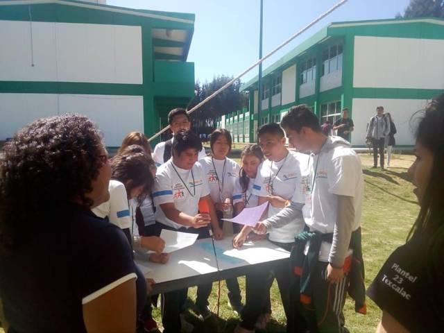Realizó Cecyte Tlaxcala 2º Rally Estatal en Inglés
