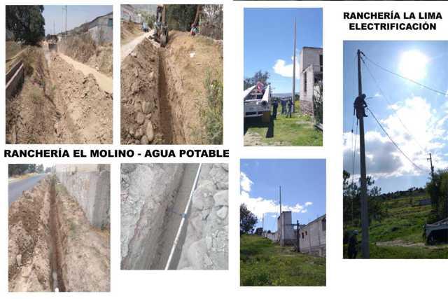 Con 1.7 mdp mejoramos los servicios básicos de 3 rancherías: Sánchez Jasso
