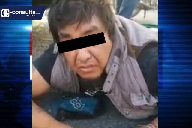 Detienen a robacoches en Puebla, delata que opera en municipio de Tlaxcala
