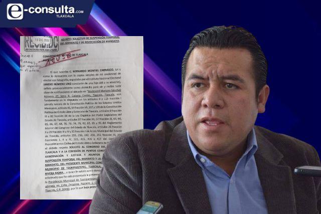 Piden suspensión de alcalde de Tzompantepec por transa