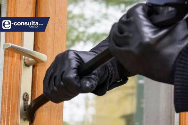 Se duplica el robo a casa habitación en Tlaxcala