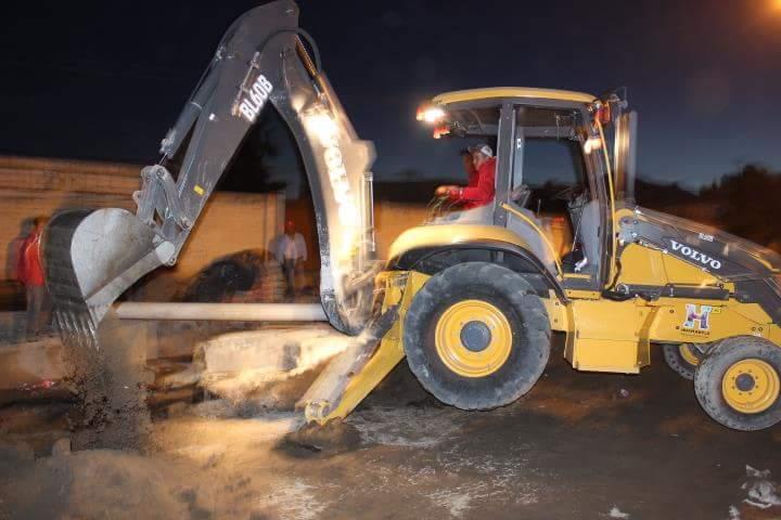 Realizan en Huamantla trabajos correctivos tras intensas lluvias