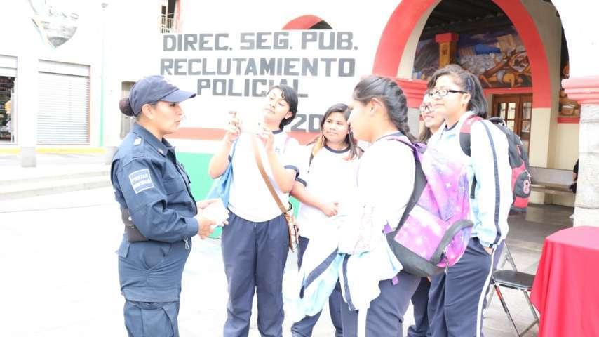 Inicia Dirección de Seguridad de Chiautempan Reclutamiento Policial 2017