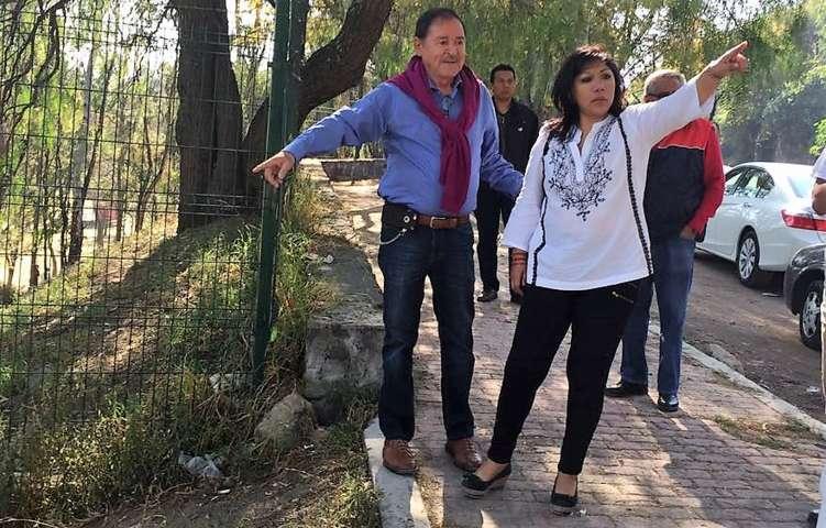Inician Anabell Ávalos y Joaquín Cisneros trabajos de embellecimiento en la capital