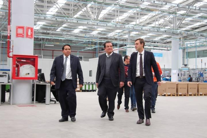 El alcalde y el presidente del CEBl de Luxemburgo promueven mano de obra