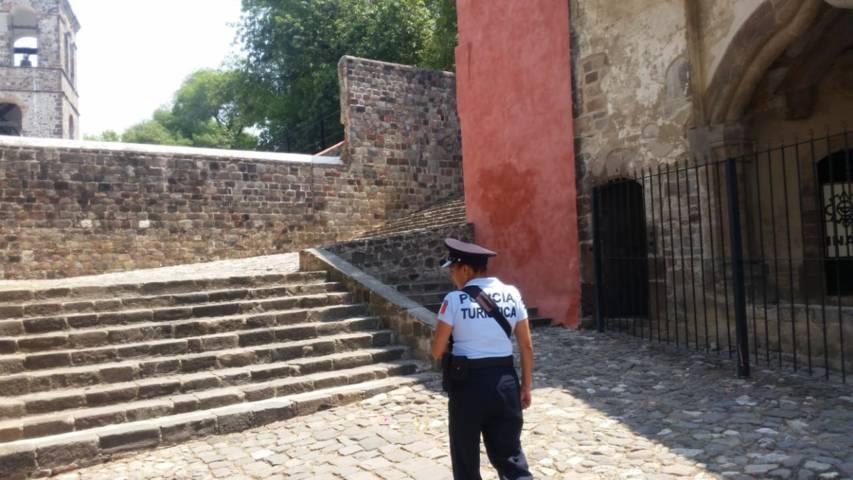 Refuerzan seguridad por arribo de visitantes a la capital