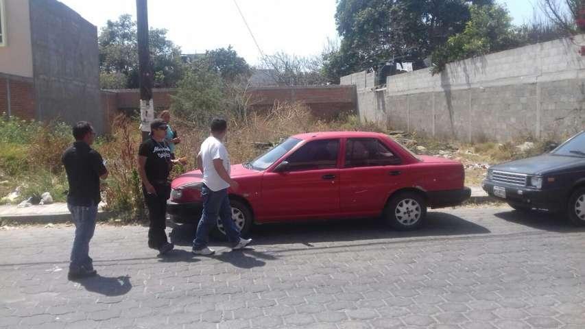 A  horas de haber reportado el robo de su unidad, policía municipal la recupera