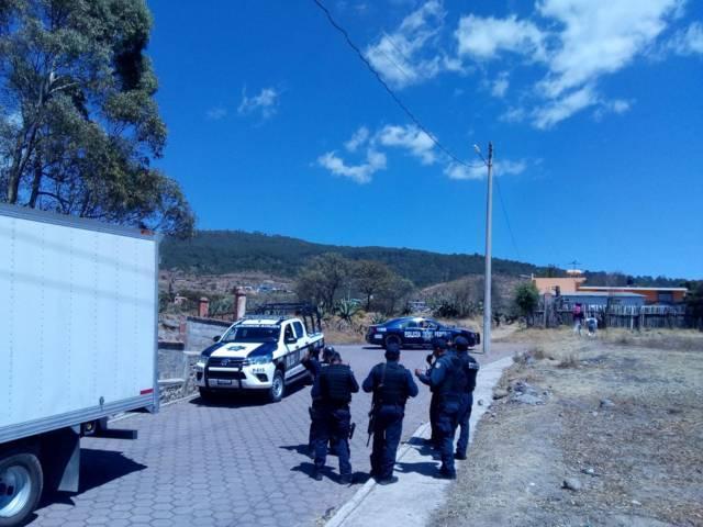 Recupera policía municipal de Tlaxco unidad robada