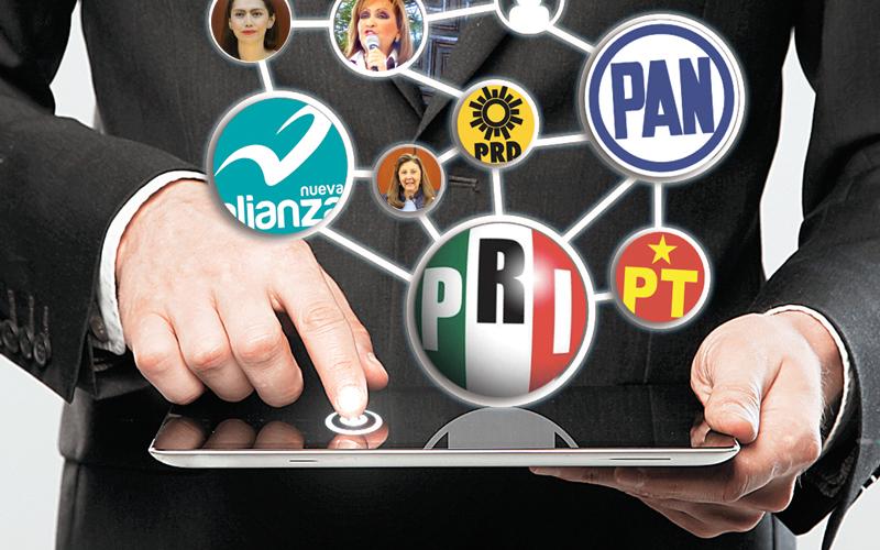 ¿Quién es quién en las redes sociales en el tercer distrito?