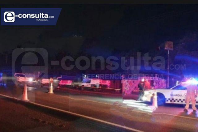 Hombre de 61 años de edad muere atropellado en Calpulalpan