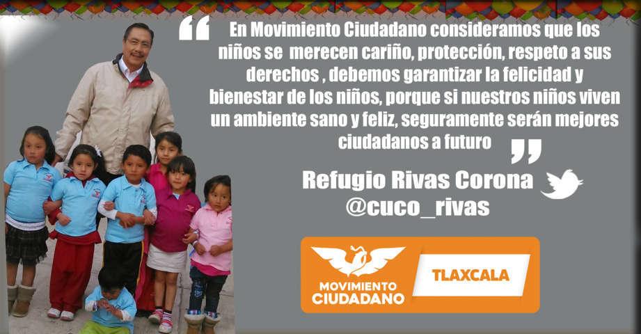 En Tlaxcala, se debe garantizar la felicidad y bienestar de los niños: Refugio Rivas