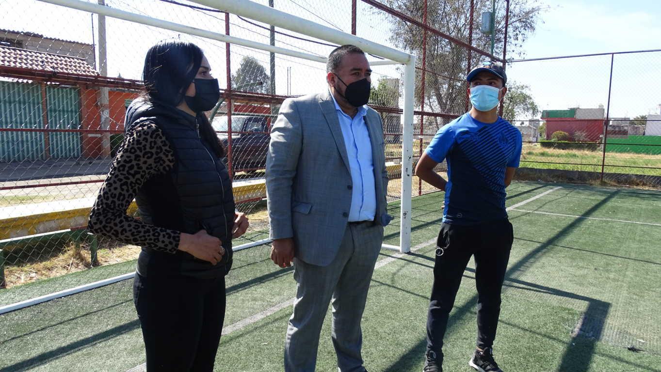 Inicia en Xicohtzinco rehabilitación del Centro Recreativo Saltillo