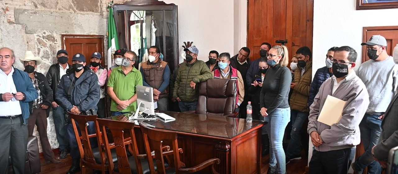 Gardenia Hernández se reincorpora al H. Ayuntamiento de Tlaxco