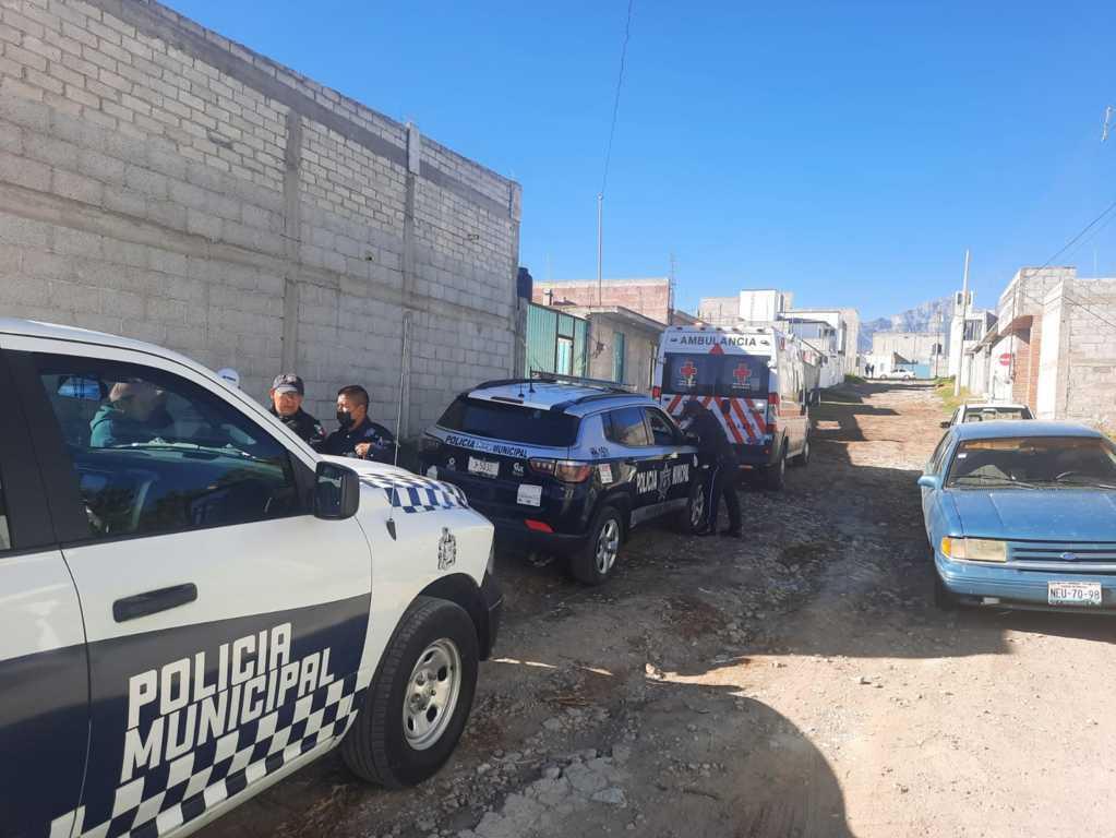Atiende policía municipal de Huamantla reporte sobre suicidio de un masculino
