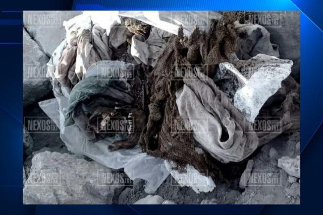 Restos humanos en bolsas en Zitlaltepec