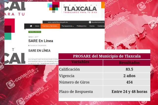 Obtiene comuna de Tlaxcala recertificación PROSARE