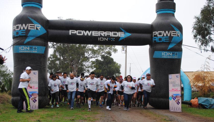 La 2da edición del Reto Tecoaque reunió corredores de Puebla y Tlaxcala