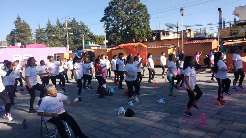 """Organiza Idet """"Rodando y construyendo juntos"""" en Xicohtzinco"""
