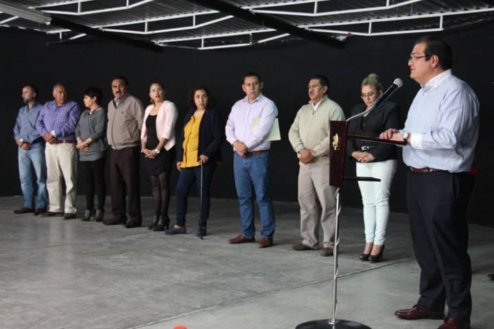 Alcalde entrega estímulos a sindicalizados por 5, 10, 15 y 20 años de servicio