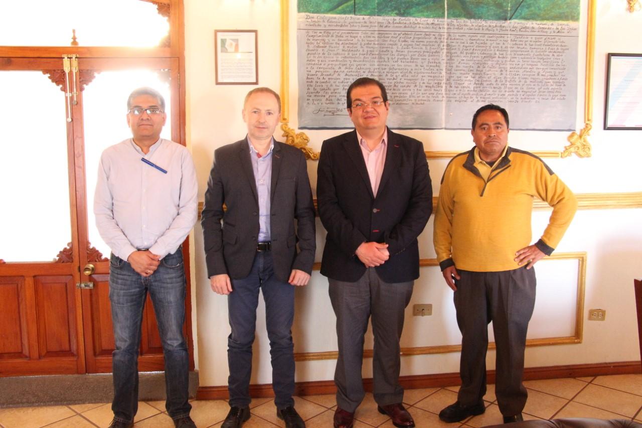 Sánchez Jasso se reúne con empresarios de BURY para generar empleos