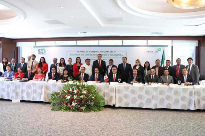 Sánchez Jasso asume la tesorería nacional de la FENAMM