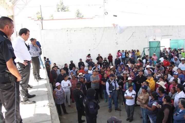 Alcalde acuerda con pobladores de Zaragoza realizar estrategias de seguridad