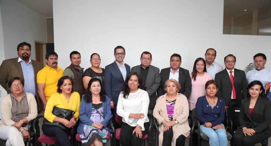 Fortalece SEPE acercamiento con secretarios seccionales del SNTE en educación especial
