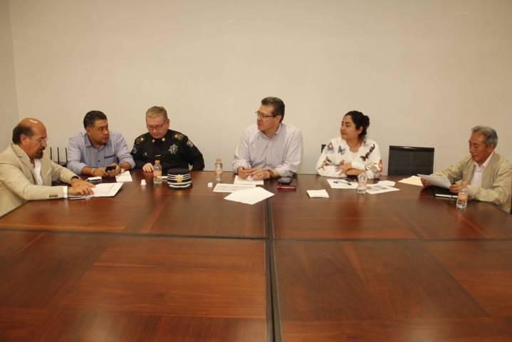 Atienden Gobiernos Estatal y Federal afectaciones por sismo