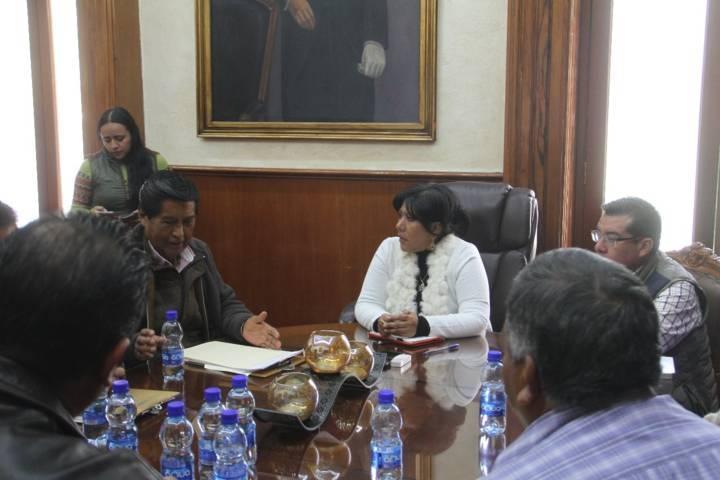Acuerdan habitantes y autoridades turnar caso de Cuauhtelulpan al Cabildo