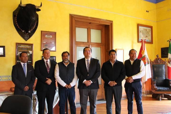 Autoridades estatales y municipales concretan acciones de seguridad para la FNH 2019