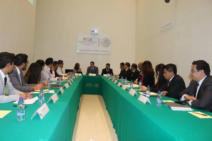 Implementa PGR acciones en prevención del delito en 60 municipios de Tlaxcala