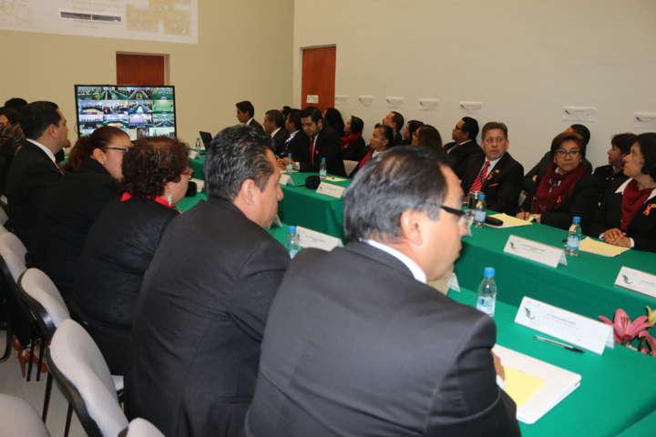 Se realiza la décima sexta reunión de evaluación delegacional en la PGRT