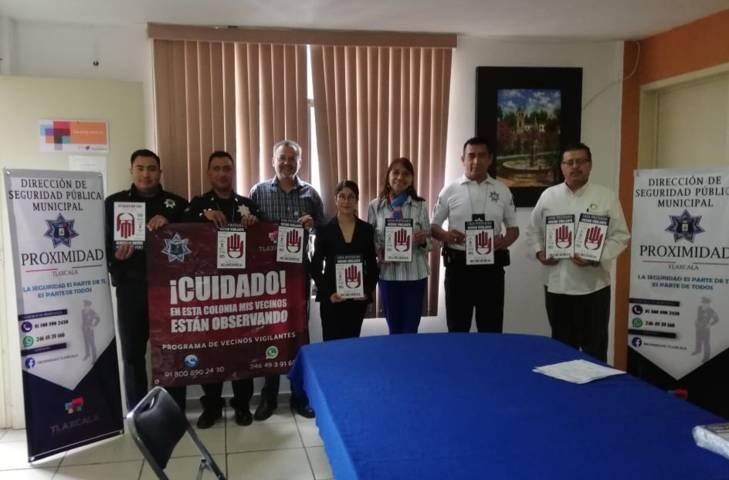 Analizan ayuntamiento capitalino y rotarios acciones en materia de seguridad