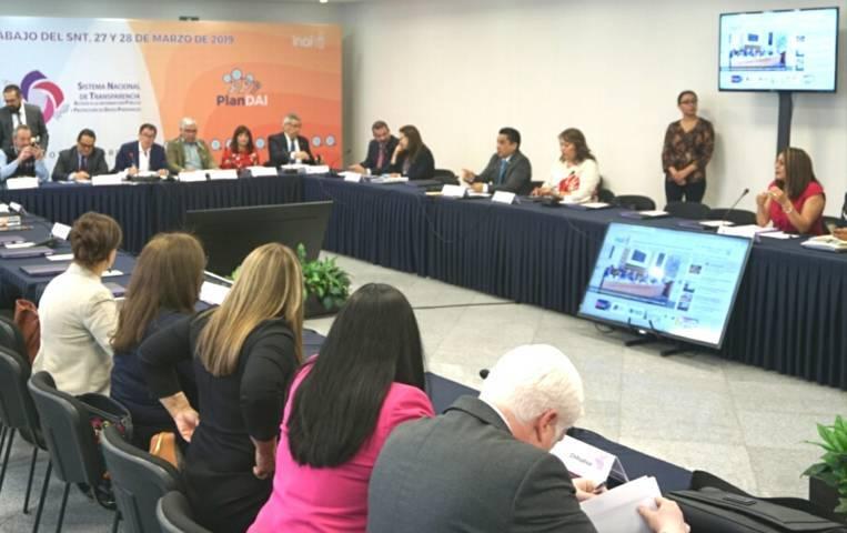 Asiste Presidenta del IAIP-Tlax a Consejo Nacional de Transparencia