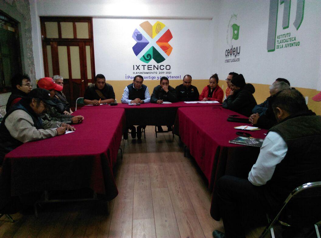 SOSTIENE ALCALDE DE IXTENCO REUNION DE TRANSPORTISTAS: PREVEN NUEVAS PARADAS COLECTIVAS