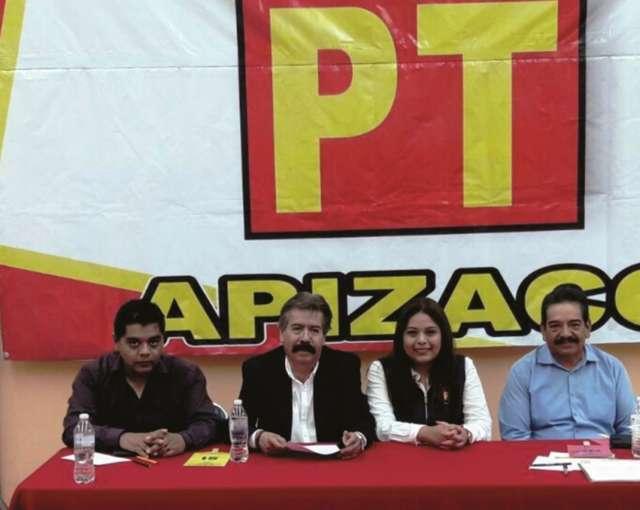 Eligen a Reyes Ruiz al frente de Comité Municipal del PT