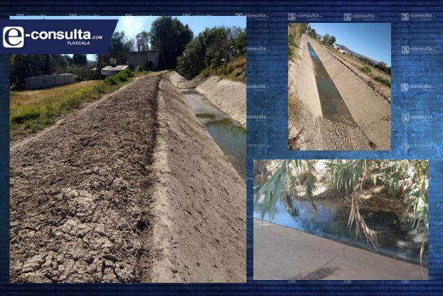 Riesgo por drenaje abierto en Villa Alta
