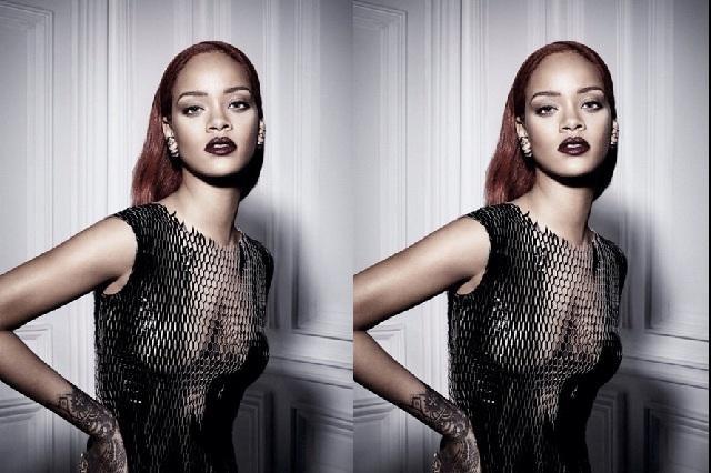 Luce rihanna vestido transparente sin ropa interior e for Rihanna sin ropa interior