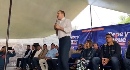 Moreno Valle hace un llamado a las dos planillas del PAN a unirse