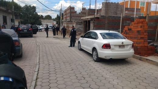 Tras enfrentamiento, atrapan a banda de robacoches en Tlaxcala