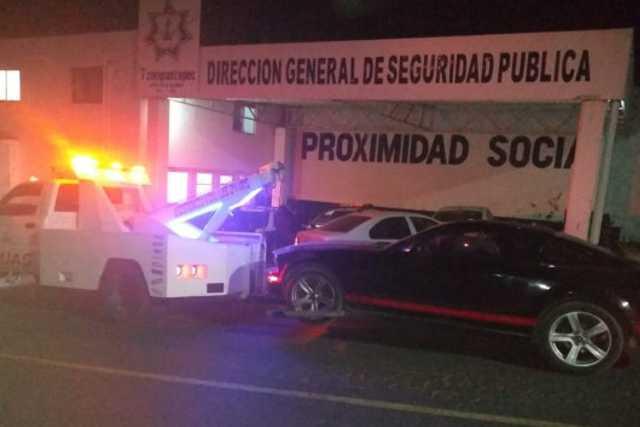 Recupera policía de Tzompantepec auto con reporte de robo