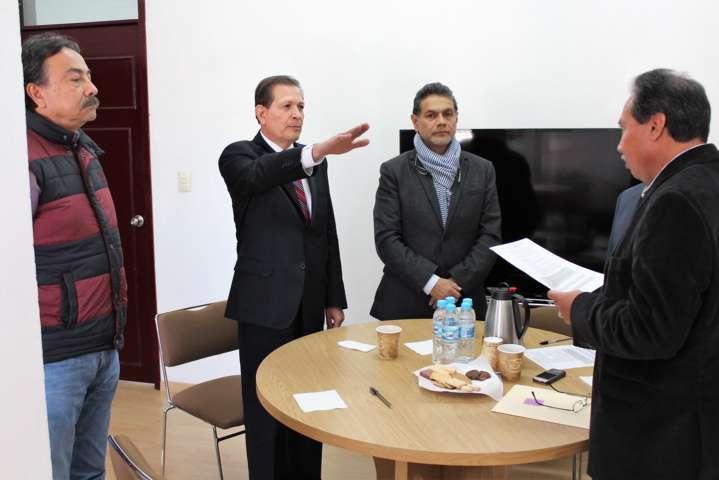 Arriba a INE Tlaxcala nuevo vocal de organización electoral