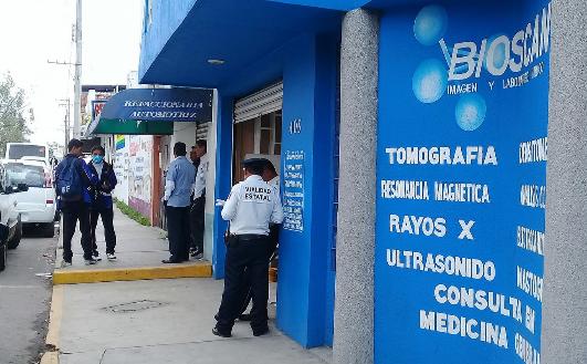 Se roban sujetos armados 19 mil pesos en Bioscan en Apizaco
