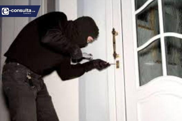 Se quintuplica en Tlaxcala el robo a casa habitación en primer bimestre del año