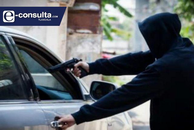 Ya sólo roban cuatro vehículos por día en Tlaxcala