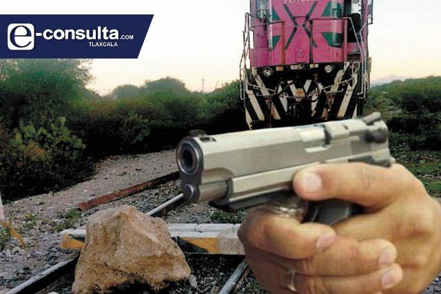 De julio a septiembre se registraron 26 robos al tren en Tlaxcala