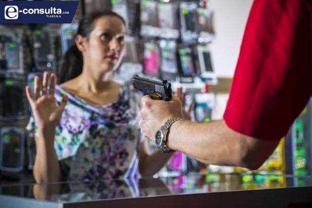 Se triplica el robo a negocio en el segundo estado más seguro del país