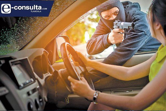 Más de 8 mil automóviles se han robado en los últimos cinco años
