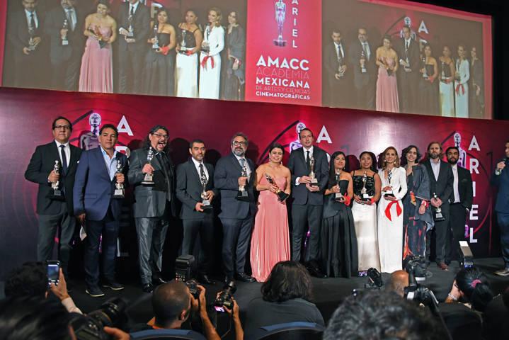 Roma se llevó la noche en la entrega de los premios Ariel